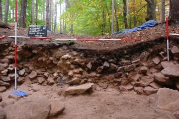 Noch die letzen Fotos ... und die erste Grabungskampagne auf der Altenburg war beendet.