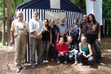 2009 wurde die Grabung durch zahlreiche Studenten der Universität Heidelberg unterstützt.