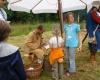 Für die Erwachsenen gab es Führungen und die Kinder konnten Münzen schlagen...