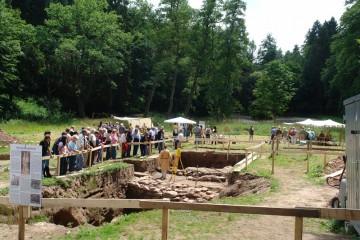 Burgfest 2008: Großer Andrang bei den Führungen