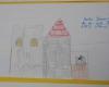 Zu einer Burg gehörte auch ein Stall mit prächtig geschmückten Rossen.