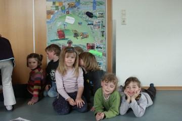 """Projekt """"Kulturlandschaft begreifen"""" mit dem Kindergarten St. Elisabeth in Frammersbach"""