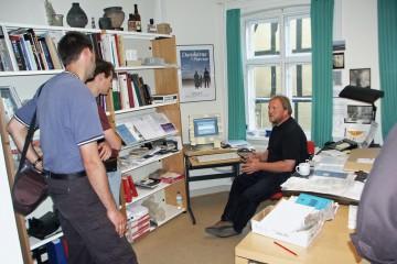 Gedankenaustausch mit Kollegen der Museen der Stadt Odense (DK) anlässlich der Erstellung eines Geographischen Informationssystems für den Spessart