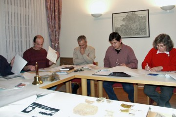 """Vorbereitendes Treffen zur Erstellung des Kulturrundwegs """"Wirtschaftsstandort Wiesen"""" in Wiesen"""