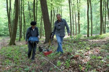 Geomagnetische Vermessung im Bereich des Klosters Elisabethenzell bei Rieneck