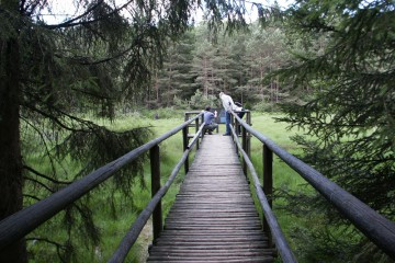 Schulung von Landschaftsführern im Wiesbüttmoor