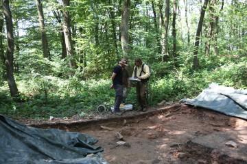 Für vier Tage sind die Geographen der Universität Würzburg mit Hightech vor Ort tätig.