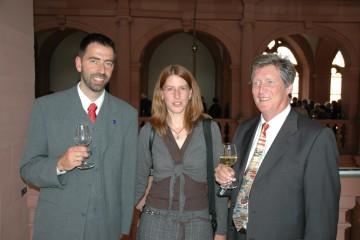 Dr. Jürgen Jung, Sabine Jung und Prof. Dr. Detlef Busche (v.l.)