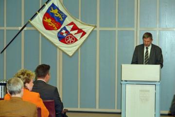 Die Laudatio hielt Dr. Michael Hoppe vom Bayerischen Landesamt für Denkmalpflege.