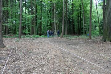Die Messungen dauerten zwei Tage. Dabei wurde eine Fläche von 50 auf 70 Meter erfasst.