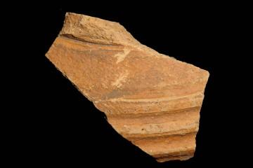 Wandungsstück eines bauchigen Gefäßes der Vorspessartware