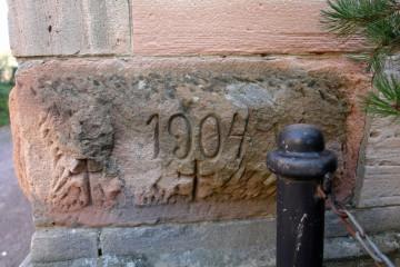 Weitere Bossenquader, die vom Gräfenberg stammen dürften, wurden im Jahre 1904 in der Kirche in Rottenberg verbaut.