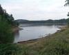 Energielandschaft: Der touristisch genutzte Badesee in Böhmen dient als Stausee vorrangig der Energieerzeugung.