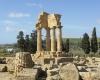 Geschichtslandschaft: Durch den Teilwiederaufbau der Ruinen im sizilianischen Agrigent (I) wird die Bedeutung des Ortes in der griechischen Antike erfahrbar.