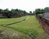 Die Festung Theresienstadt an der Eger (CZ) wurde vor 1800 errichtet und diente im Dritten Reich als Konzentrationslager.