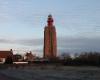 Kulturlandschaft im Wandel: Dieser spätgotische Kirchturm in Zeeland (NL) wird heute als Leuchtturm genutz. Möglicherweise reicht diese Funktion bis ins Mittelalter zurück.