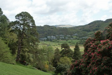 Der Garten von Plas Tan y Bwlch, Wales (UK)