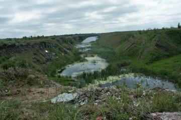 Aufgelassene Phosphatmine in Estland