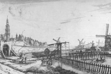 Die Holländerwindmühle revolutionierte den Mühlenbau. In den wirtschaftlichen Ballungsräumen der Niederlande des 17. Jahrhunderts kam den Windmühlen eine entscheidende Bedeutung zu. So befanden sich in Zaanse Schanz in der Nähe von Amsterdam annähernd fünfhundert Windmühlen auf engstem Raum. Die Windkraft wurde hier zum Zuschneiden der Planken für den Schiffsbau genutzt.