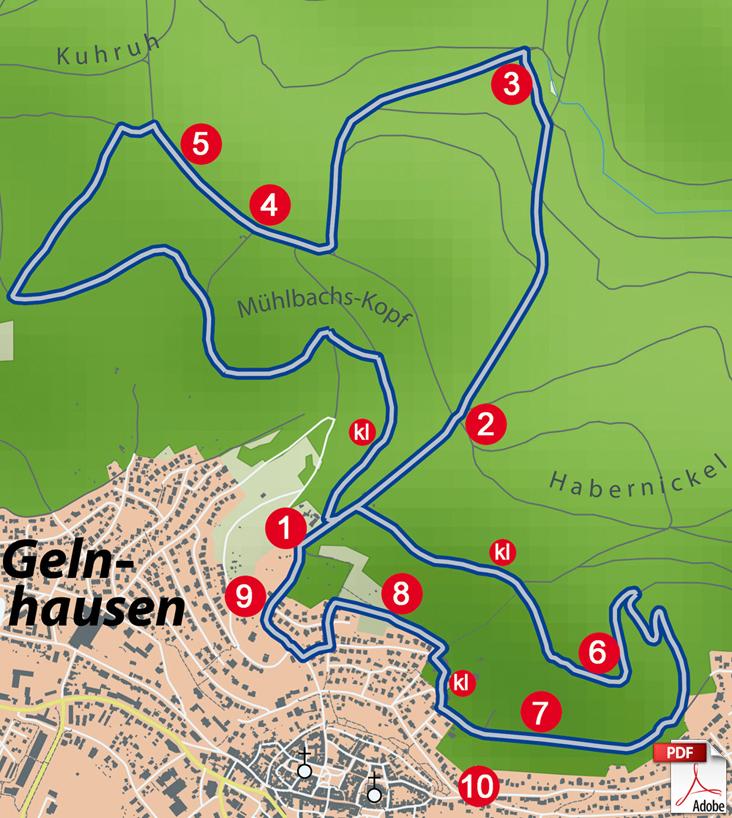 KW Gelnhausen 4 Karte