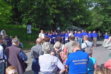 Eröffnung des Kulturrundwegs in Bessenbach