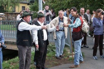 Eröffnung des Kulturrundwegs in Laufach