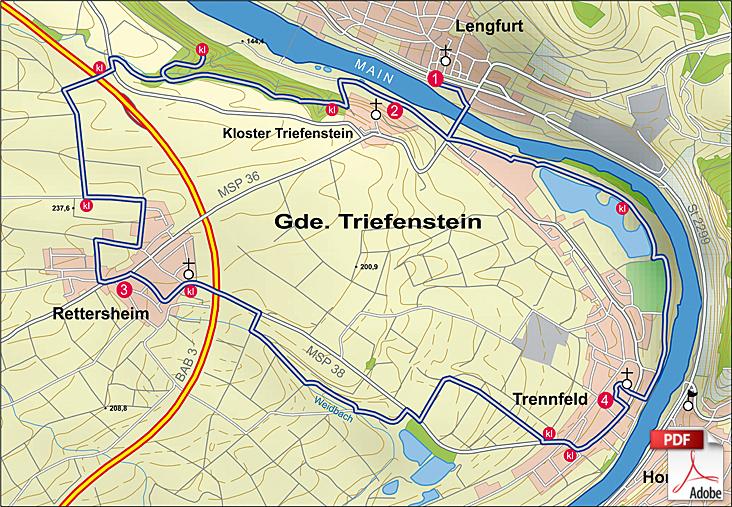 KW Triefenstein 1 Karte