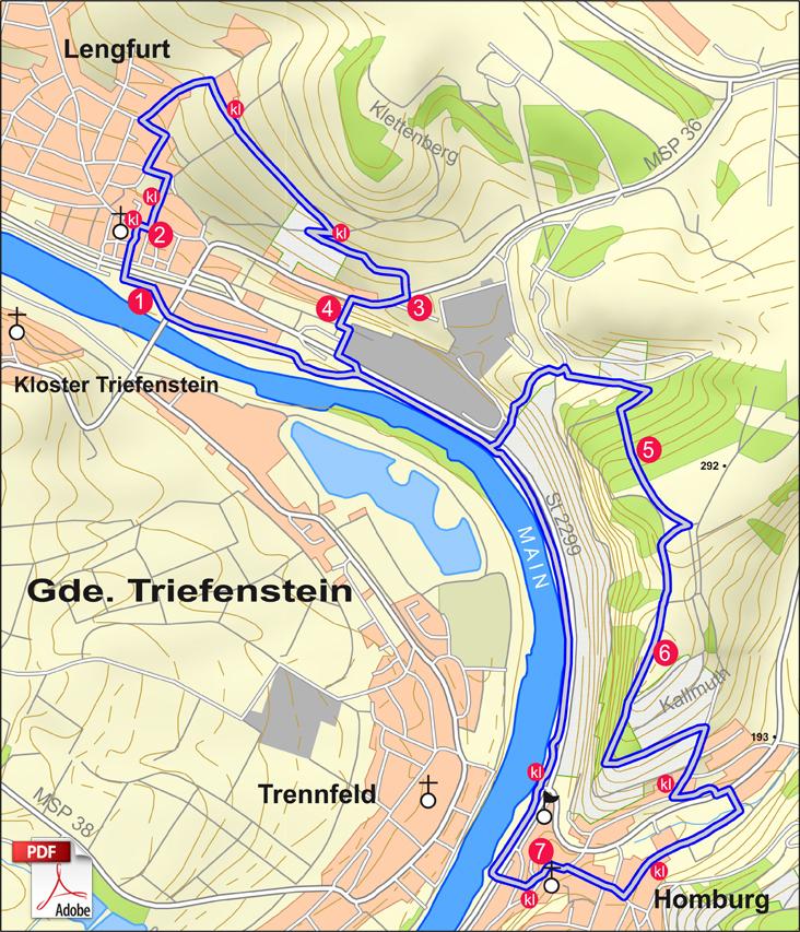 KW Triefenstein 2 Karte