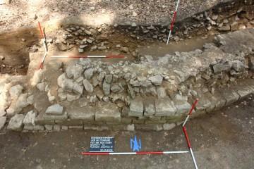 """...und dann ist die Grabungskampagne 2009 auf dem """"Alten Schloss"""" auch schon zu Ende."""