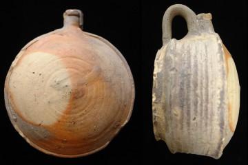 Vergleichbare Flasche aus dem 19. Jahrhundert, Region Bourges (F)