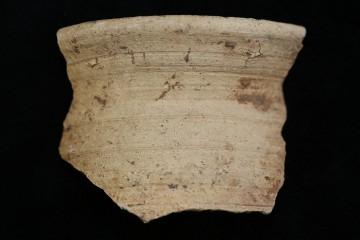 Fragment der Mündung einer Becherkachel vom Klosterberg