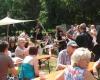 Mittelalterliche Klänge bereicherten den Festbetrieb.