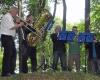 Auftakt des Burgfestes: musikalische Begleitung der ökumenischen Andacht
