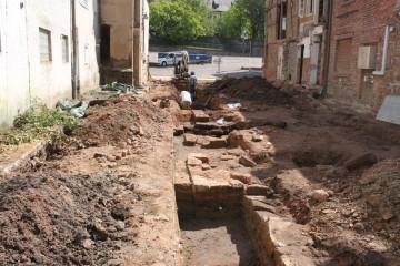 Über gut 20 Meter haben wir uns in zwei Wochen bis nach vorne durchgegraben.