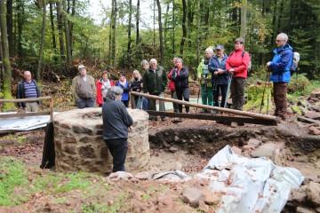 Anlässlich des 300-jährigen Jubiläums der Bayrischen Schanz konnte auch der sanierte Brunnenschacht präsentiert werden.