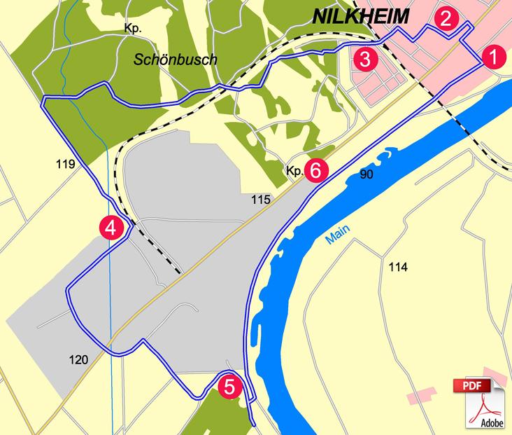 KW Aschaffenburg 4 Karte