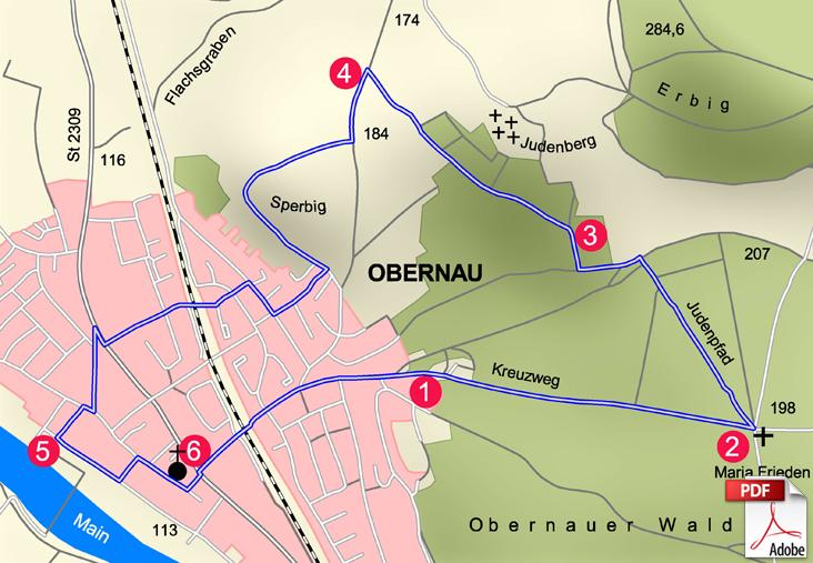 KW Aschaffenburg 5 Karte