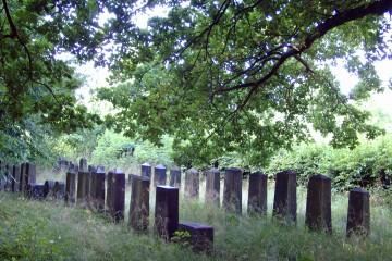 Der für die jüdischen Gemeinden von Freigericht, Hasselroth und Meerholz angelegte Friedhof von Niedermittlau befindet sich am Ortsausgang in Richtung Altenmittlau.