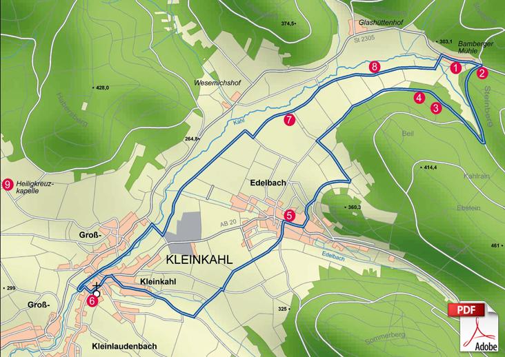 KW Kleinkahl Karte