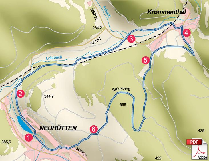 KW Neuhütten Karte