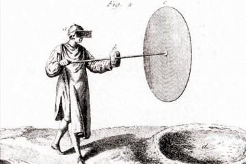 Herstellung von Mondglas: Ausschnitt aus dem Lexikon von Diderot aus dem 18. Jahrhundert