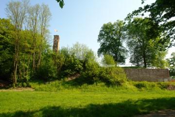 Allmählich gewinnt die Burg Bartenstein an Kontur.