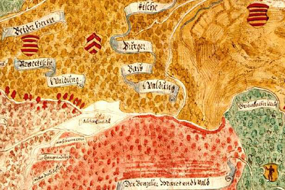 Karte Würzburg Und Umgebung.Das Kloster Elisabethenzell Historische Karten Archäologisches