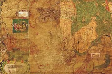 Hoffmann-Karte von 1584 (StA Marburg, Karte A 11)