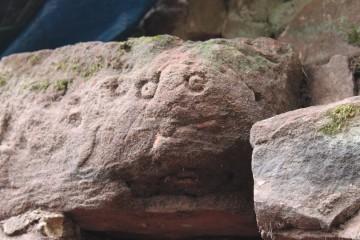 """Der """"Geist"""" von der Burg Wildenstein entpuppte sich als geologische Besonderheit."""
