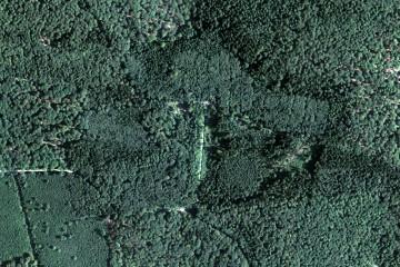 Kloster Einsiedel und Umgebung im Luftbild, Aufnahmedatum 19.7.2014 (1000m x 667m). Datengrundlage: Bayerische Vermessungsverwaltung; Bearbeiter: Karl-Heinz Gertloff, Egelsbach