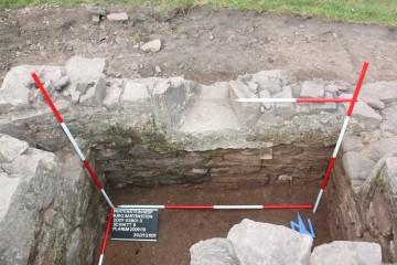 Der Schießschartenraum konnte nach drei Seiten hin verteidigt werden.