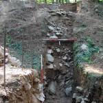 Schnitt 3 durch den Graben und den äußeren Wall