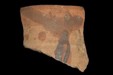 Fragment der Mündung einer Ofenkachel von der Ketzelburg