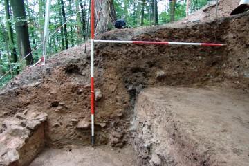 Das Grubenhaus auf der Ketzelburg: Profil